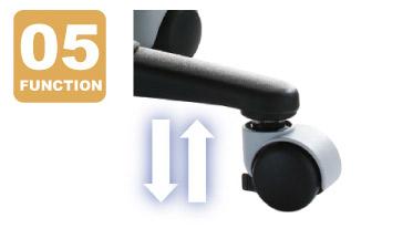 Auto lockable and adjustment wheel